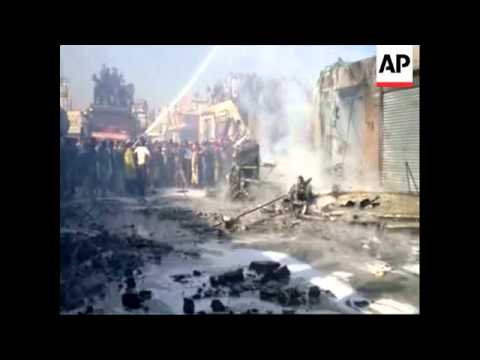 4:3 Yemeni military plane crashes, killing 10