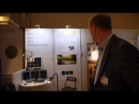 Sonnenrepublik at Energy Harvesting Europe: Photovoltaic System Incorporated into a Solar Golf Cart
