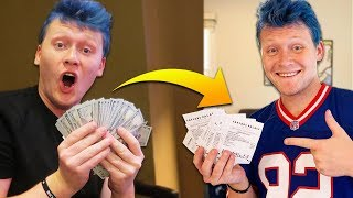FLYING TO VEGAS TO BET THOUSANDS ON EVERY NFL TEAM!