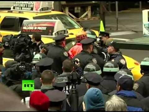 Dozens arrested at occupy corporations