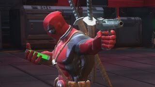 MARVEL: Contest of Champions (iOS/Android) DEADPOOL REVIEW Lets play Gameplay