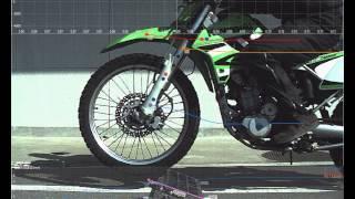 ハイスピードカメラ+データロガー 「オートバイの走行テスト」