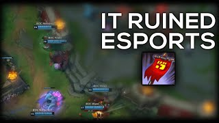 How This ONE Thing Single-Handedly Ruined Competitive League of Legends