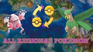 All Regional Pokemon In Pokemon Go Gen 3 Included!
