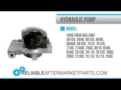 1248 Ford New Holland Hydraulic Pump 5610S 5640 6610S 6640 7740 7840 8240 F0NN600BB