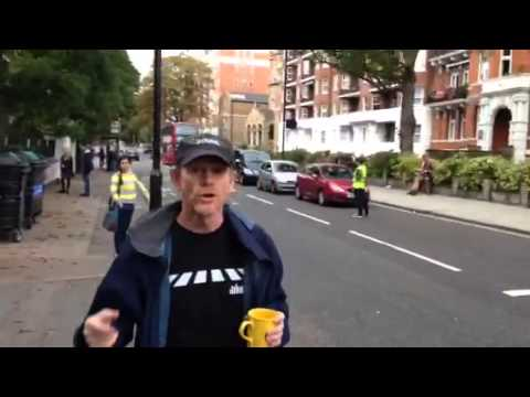 Ron Howard ALS Ice Bucket Challenge @ Abbey Road
