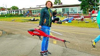 RC MODEL HELICOPTER 3D AEROBATICS JENNY BRAND SAB GOBLIN 700 FLIGHT DEMONSTRATION