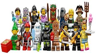 11 серия Минифигурок Lego (обзор)