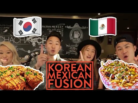 KOREAN-MEXICAN FUSION! - Fung Bros Food