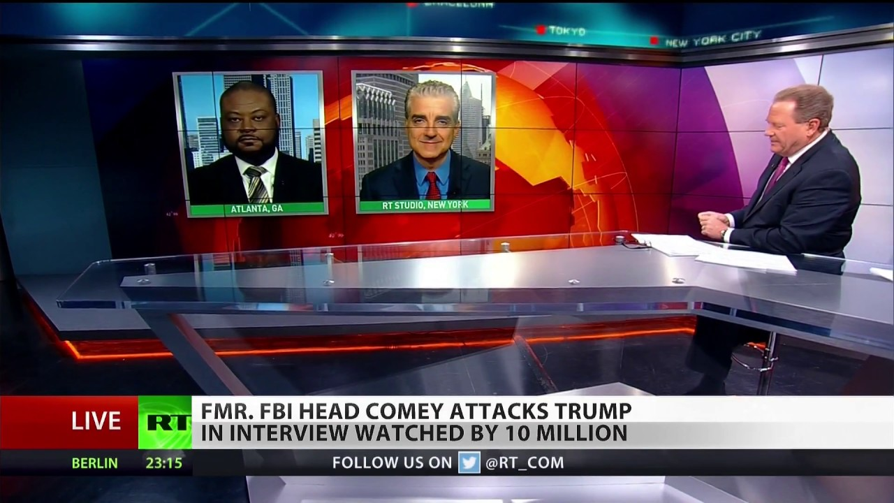 Ex-FBI chief Comey slams Trump in ABC interview