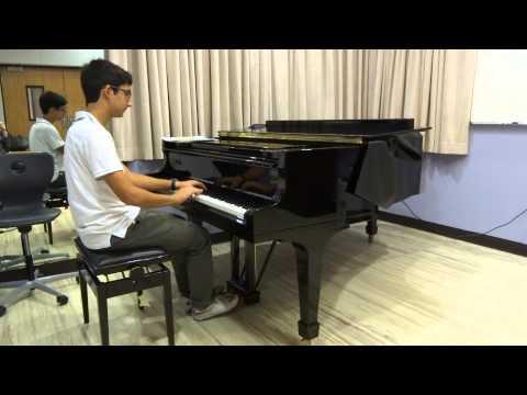Khalid Himmo playing Shostakovich's Fantastic Dance No 1, Qatar Music Academy