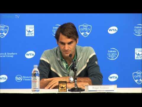 Cincinnati 2014 Wednesday Interview Federer