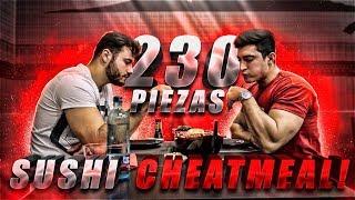 RETO DE SUSHI | CHEATMEAL BRUTAL | Road To 100kg