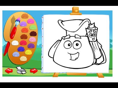 Dora The Explorer Painting Games Online Free - Dora Painting Games