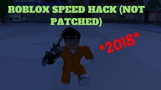 Roblox- HOW TO SPEED HACK (NOT PATCHED)