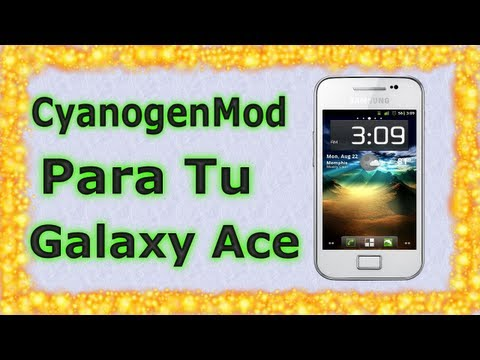 Rom CyanogenMod7.2 Rc4 para Galaxy Ace s5830m/i/c/t/39i   Android Evolution