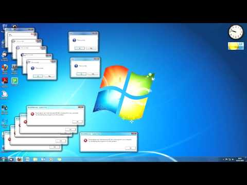 [hd] Windows 7 Sparta Remix (with Video!) video