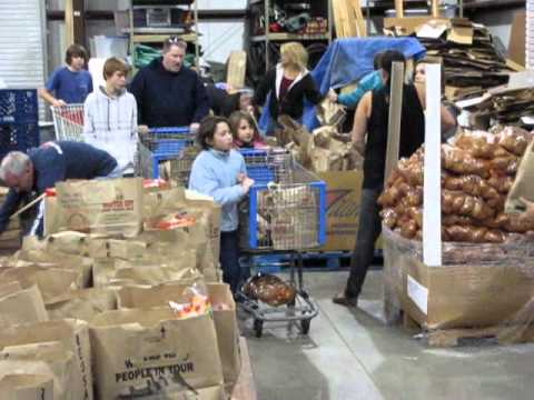 Preteen Ministry Thanksgiving Reach Project video