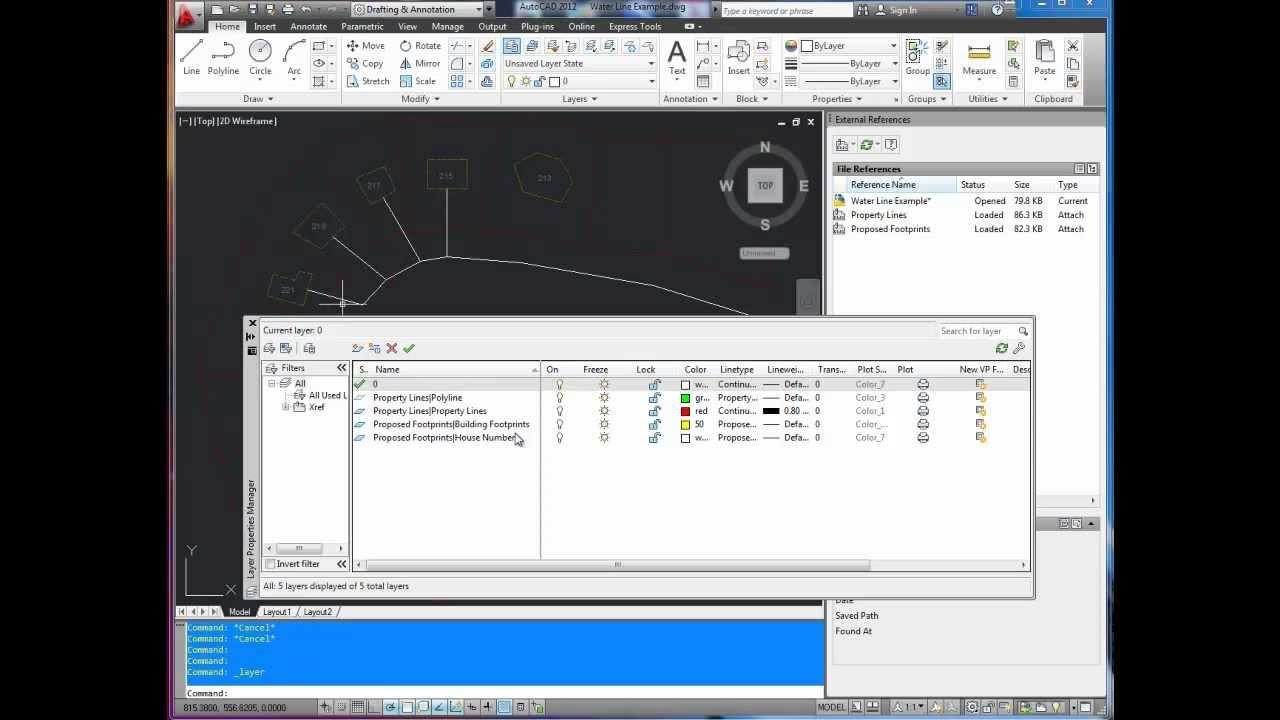 acadblog autocad tutorial attach xref