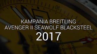 Breitling Avenger II Seawolf Blacksteel