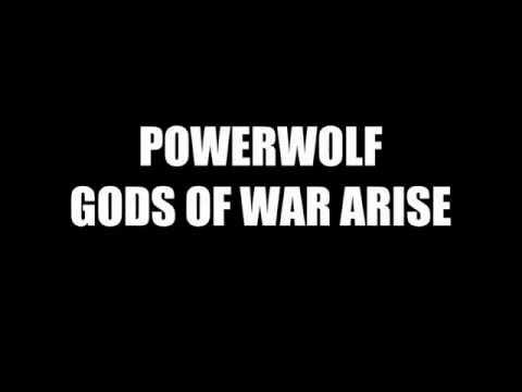 Powerwolf - Gods of war Arise (Amon Amarth Cover) [Lyrics Video]