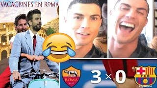 THE FUNNIEST MEMES IN ROMA VICTORY OVER BARCELONA [MESSI AND COUTINHO YOU DON'T WANT TO MISS!]