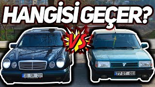 Mercedes E200 Vs Doğan SLX   Hangisi Geçti?