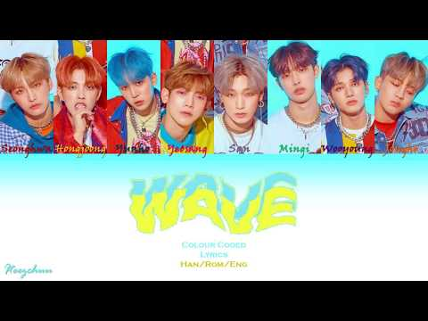 Download ATEEZ 에이티즈 - Wave Preview Colour Coded s Han/Rom/Eng Mp4 baru