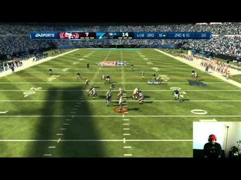 Madden 13 - Don't Get Master Baited On | Madden 13 Online Ranked Match Gameplay