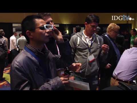 Sony muestra sus gafas inteligentes a los desarrolladores