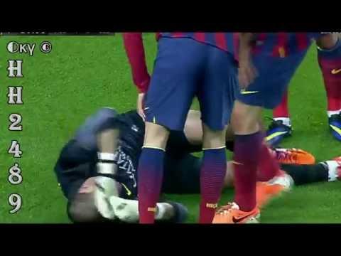 Barcelona vs Celta Vigo 3-0 2014 →Lesión VICTOR VALDÉS Injury← Barcelona 3:0 Celta Vigo ~ 26/03/2014