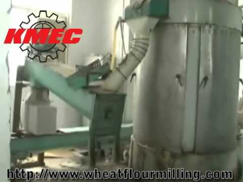 Wheat Flour Milling Process, Flour Mill Plant