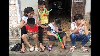 """Vụ trao """"nhầm con""""  ở Hà Nội: Hai con """"quây quần"""" bên mẹ Hương"""