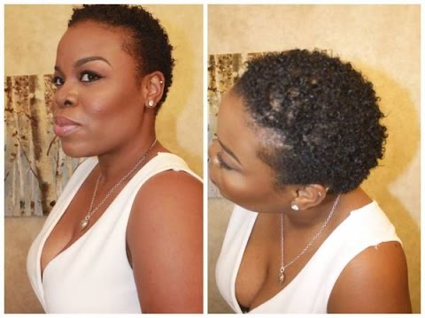 Wash and Go Routine on Short Natural Hair - SimplYounique