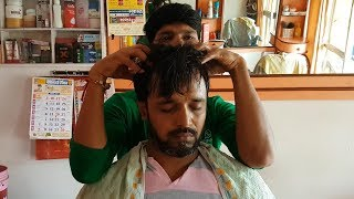 All new barber #Jay relaxing long head massage