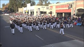 Usmc West Coast Composite Band 2018 Pasadena Rose Parade