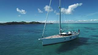 Oyster 825 Blue Water Sailing Yacht - Oyster Yachts Walkthrough