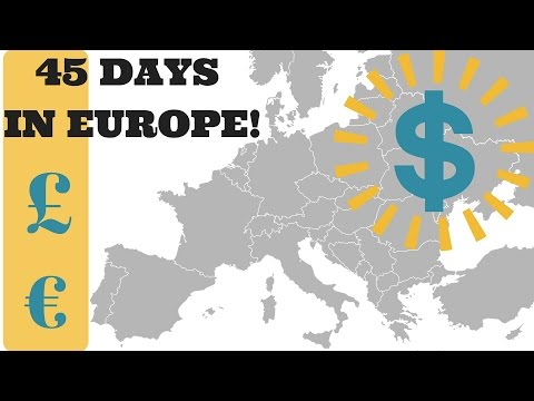 What We SPENT!: How EXPENSIVE is Backpacking Europe?!