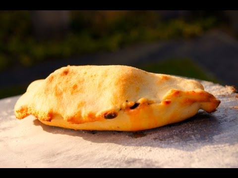 How To BBQ a Mini Calzone Pizza on a Big Green Egg - Pitmaster X
