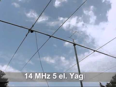 14 MHz 5el Yagi by Dual