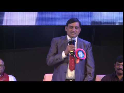 J Krishna Kishore IRS Speech At Bashyam Public School Guntur - Part 1