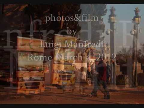 Rome, here's what the tourists are from the Belvedere Pincio. .wmv