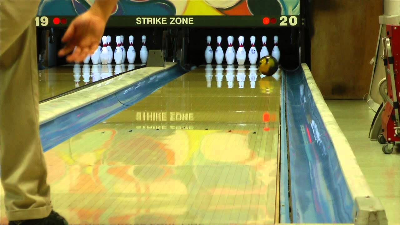 Storm Pitch Black Bowling Ball Reaction Video Ball Review
