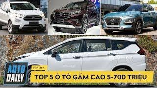 Top 5 ô tô GẦM CAO tầm giá 500-700 triệu đồng KHÔNG THỂ BỎ QUA |AUTODAILY.VN|