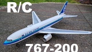 RC Boeing 767-200 Depron EDF Airliner Air New Zealand Overview (Build p. 3)