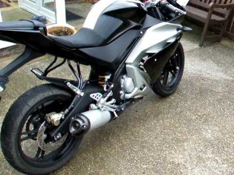 Yzf R125 Mods Yamaha Yzf-r125 Exhaust And