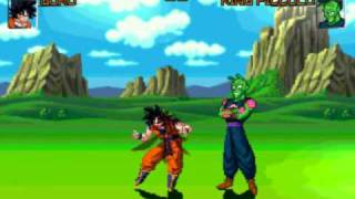 Mugen - Goku vs King Piccolo