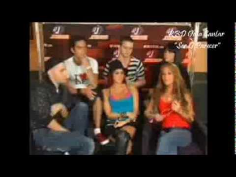 video musica de ser o parecer de rbd: