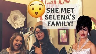 Meeting Selena Quintanilla's Family & More: Interview with Meximoments