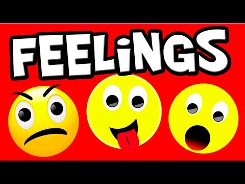 Learn Feelings and Emotions for Kids | Preschool Learning | Kindergarten Learning | Emotions Child